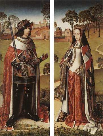 Coronación de Juana de Castilla