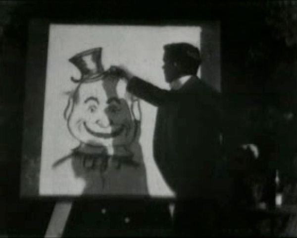First use of Animation in a U.S. Film