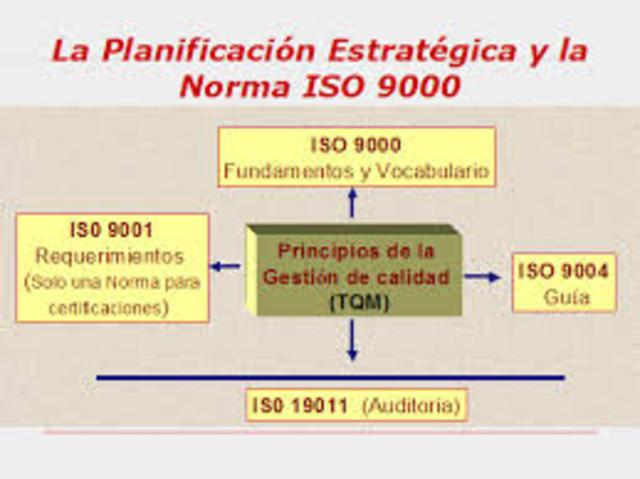 SE GENERAN LA ISO 9000 Y 9004
