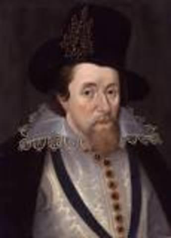 James I Died