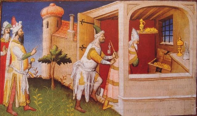 Death of Al-Musta'sim the Last Abbasid Caliph in Baghdad