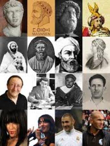 Conquest and conversion of Berber tribes in North Africa.