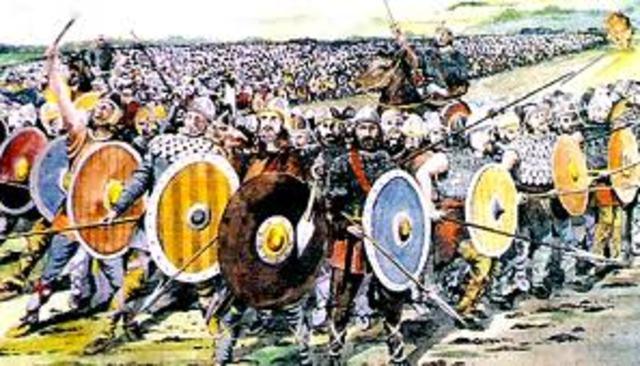 Battle of Tours, France.