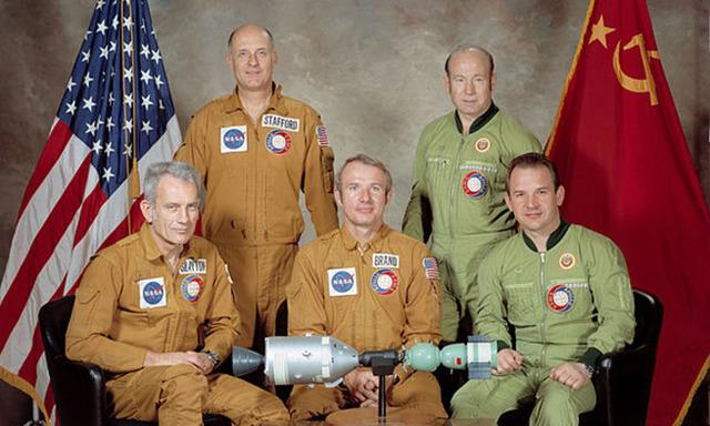First international manned space flight