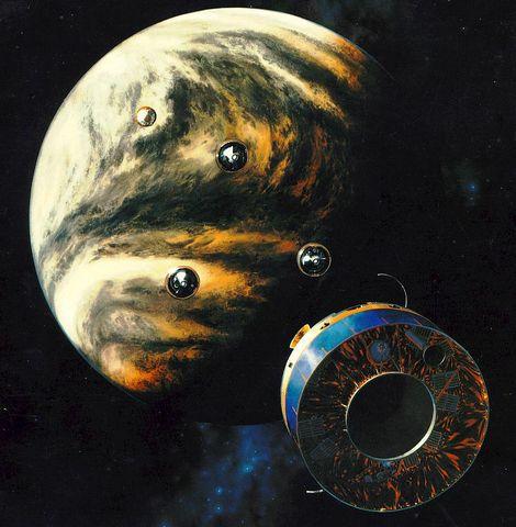 Launch of Pioneer Venus