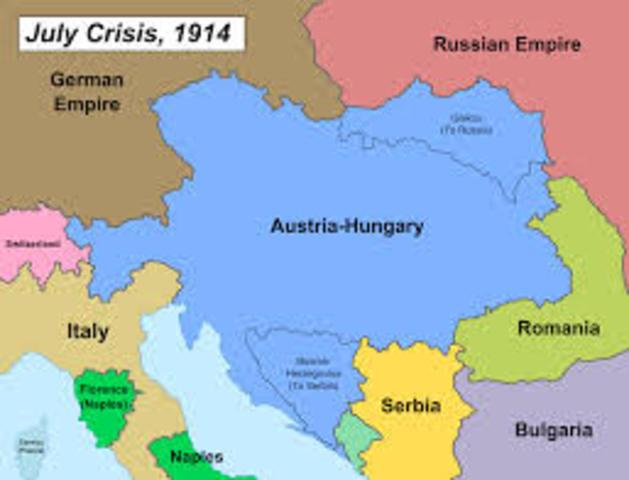 Austria-Hungary Annexed Bosnia