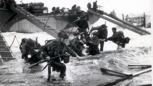 Allied Forces Land at Normandy
