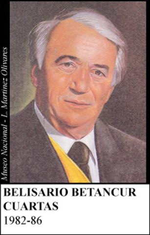 BELISARIO BETANCUR 1982-1986