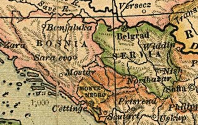 Austria-Hungary annexes Bosnia