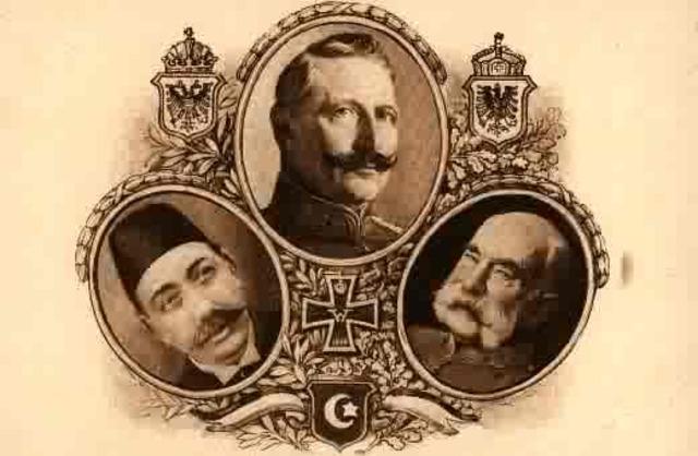 Ottomon-Germany Alliance formed