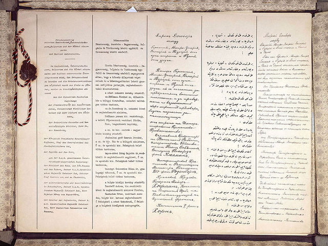 Russia signed Treaty of Brest-Litovsk