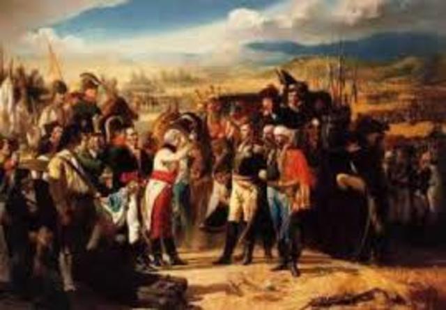 Derrota de los ejércitos napoleónicos