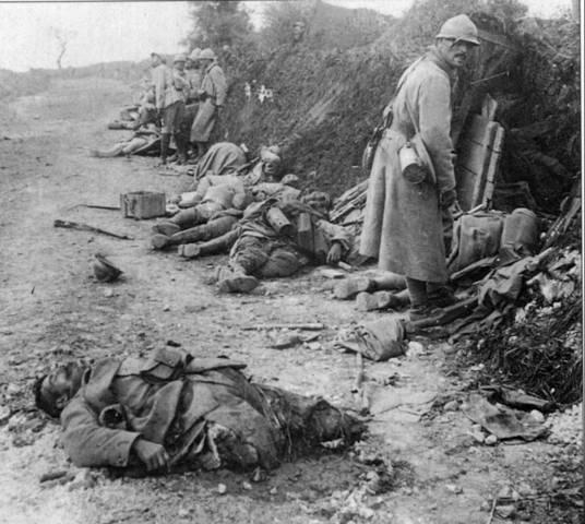 Comienzo de la I Guerra Mundial