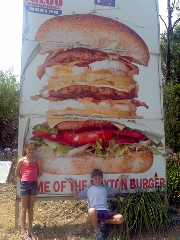 Went to the Buxton Burger!!!