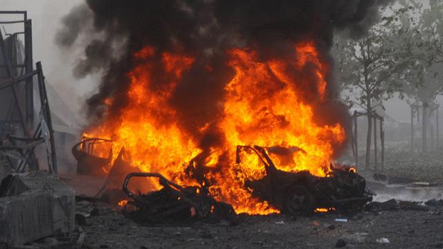 Suicidal Car  Bomb