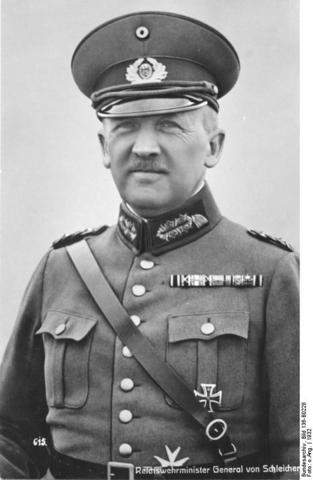 Appointed Chancellor at the time of the November 1932 Reichstag elections