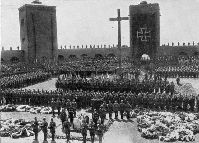 Death of Hindenburg in 1934