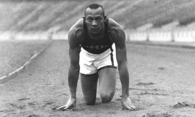 Black athlete who won four medals at the Berlin Olympics