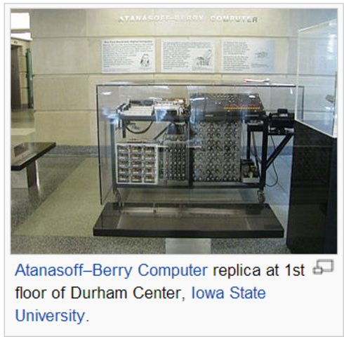 Atanasoff Berry Supercomputer