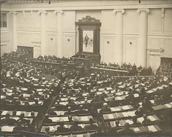 Closing of the Duma