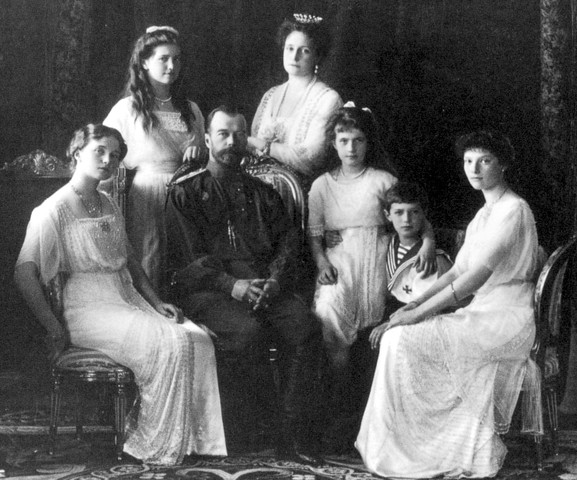 Execution of the Tsar and his family