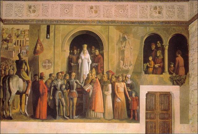 Isabel I se autoproclama reina de Castilla en Segovia.