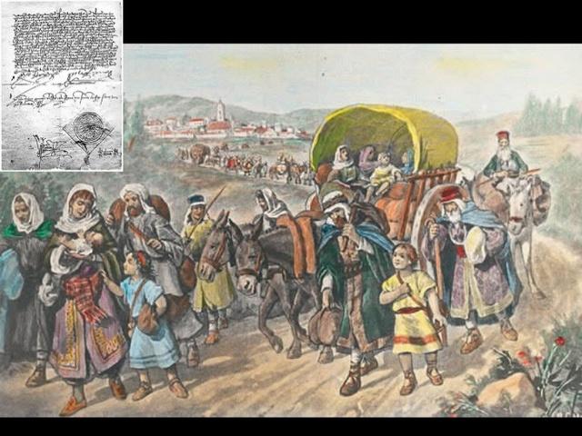 Decreto de Expulsión de los judíos.