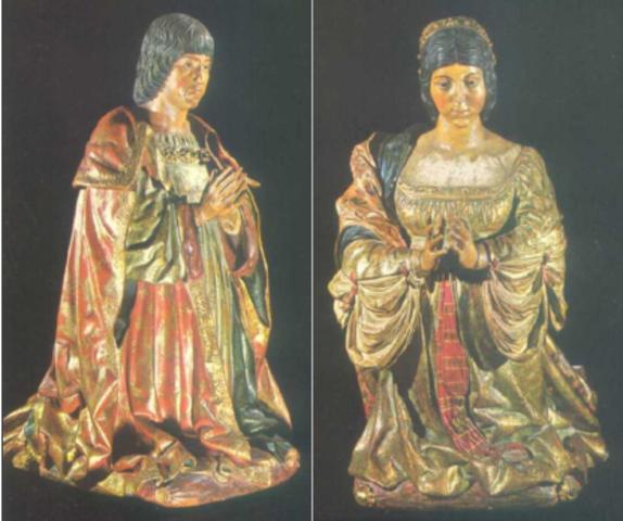 El Papa Alejandro VI les concede el título de Reyes Católicos.
