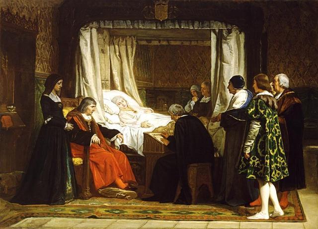 Muerte de Isabel la Católica en Medina del Campo.