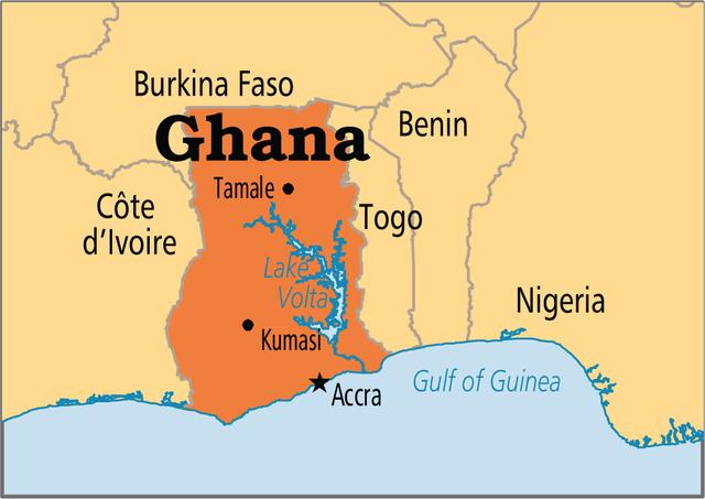 Ghana Under Muslim Control