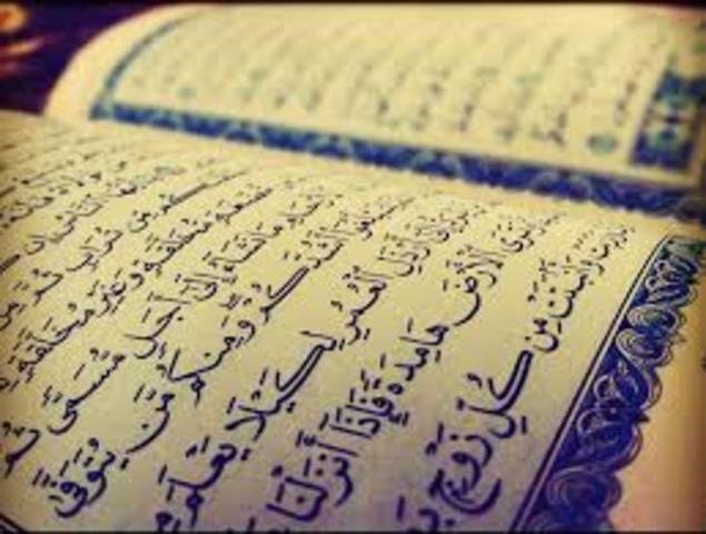 Establishment of the Quran
