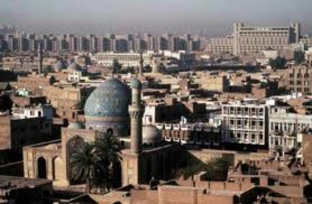 Bahgdad Becomes Capital