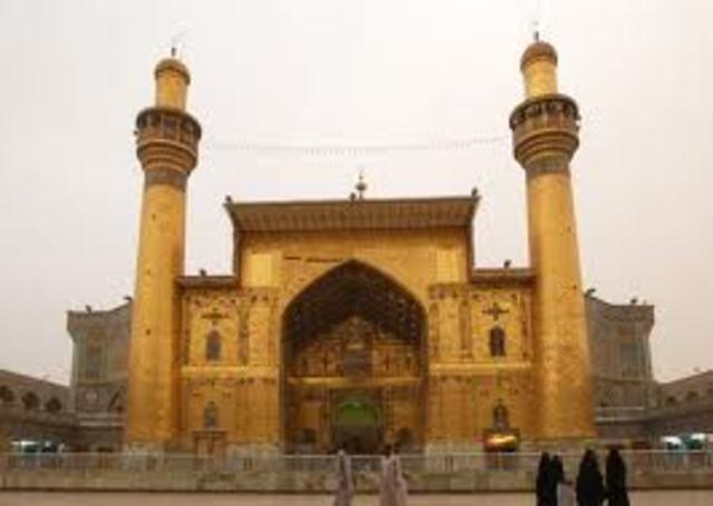 Imam Ali is Killed