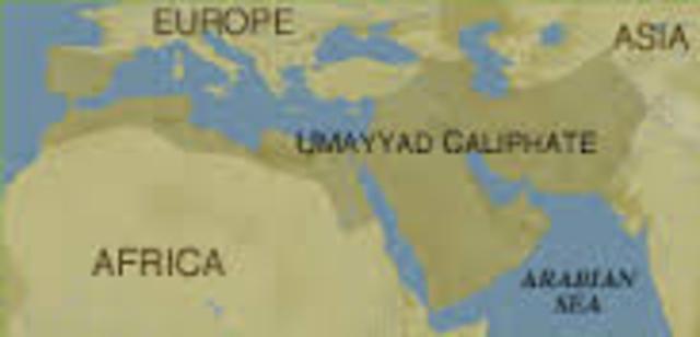 The Umayyad dynasty falls