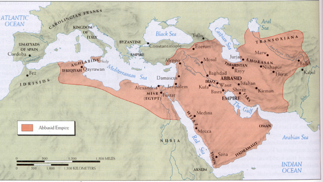 The Caliphate Empire begane to fall apart
