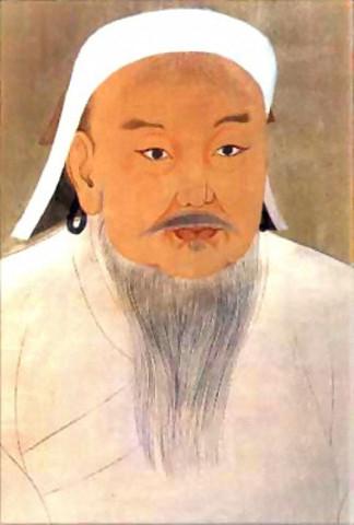 MUSLIMS IN INDIA- Genghis Khan
