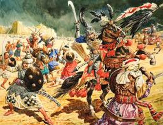 Tamerlane invades India