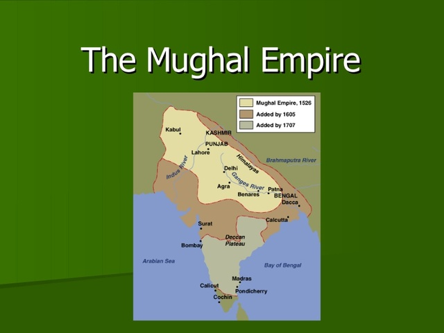 The end of the Mughal Dynasty
