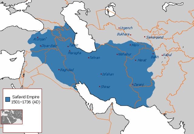 The Safavid Empire is formed