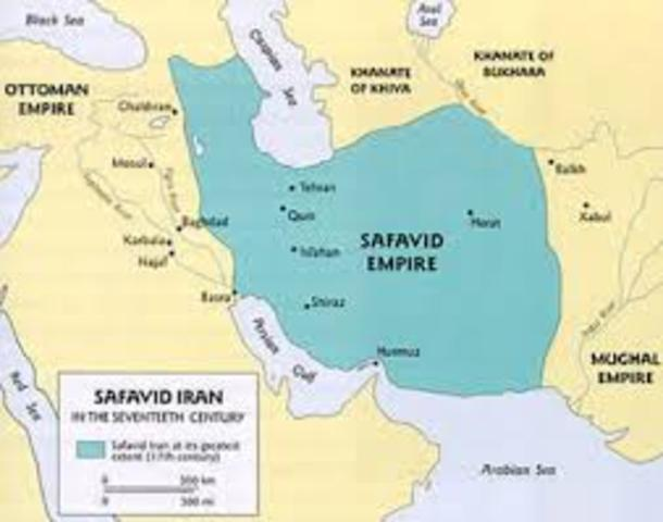 The Safvid Empire is Formed