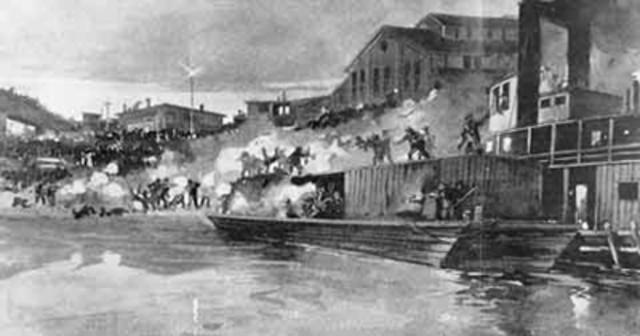 Battle at Homestead Steel