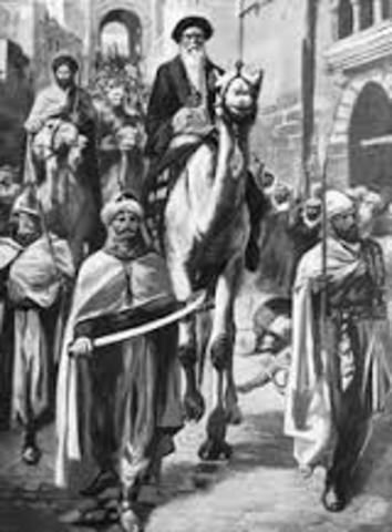 Muhammed returns to Mecca
