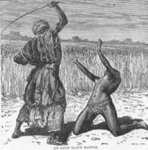 Muslims forced into slavery