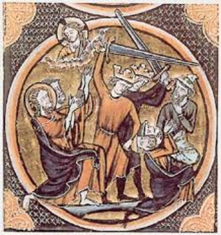 Christian Crusaders attempt to take Jerusalem.