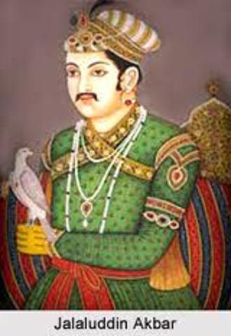 The reign of Akbar