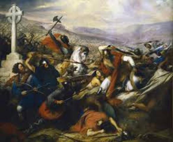 Battle of Tours, France