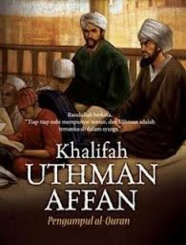 Assassination of Uthman, the 3rd Caliph