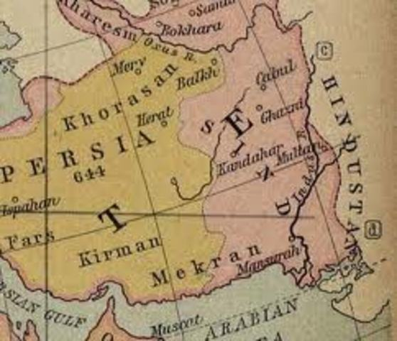 The Persian Empire was taken by Islam