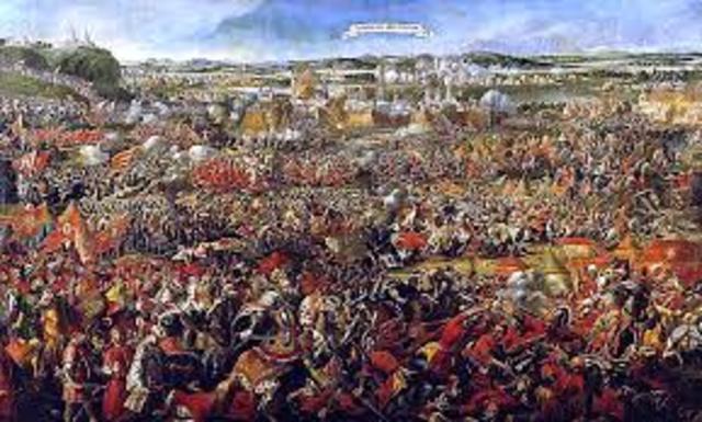 Armies besieged the Austrian city of Vienna