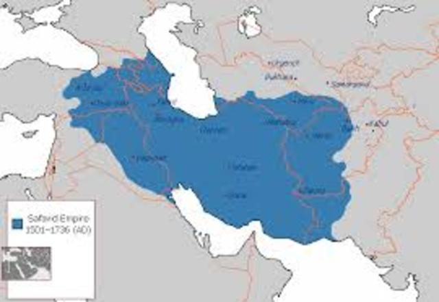 Safavid Dynasty united a strong empire in Persia